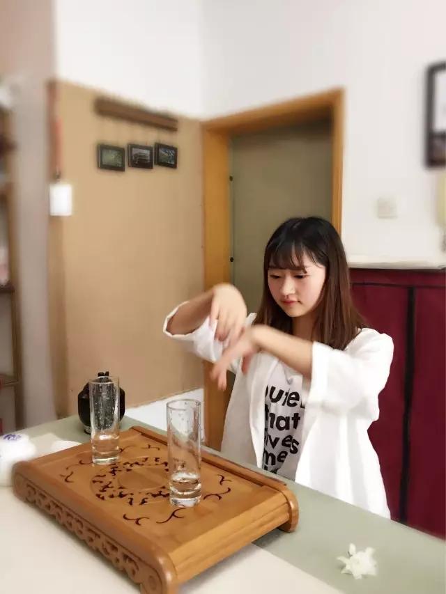 茶艺培训图